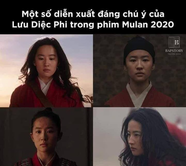 Netizen hùa nhau chế ảnh diễn xuất của Lưu Diệc Phi ở Mulan: Bất biến toàn tập, tỷ chết tâm rồi mấy em ơi! - Ảnh 3.