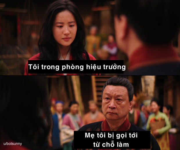 Netizen hùa nhau chế ảnh diễn xuất của Lưu Diệc Phi ở Mulan: Bất biến toàn tập, tỷ chết tâm rồi mấy em ơi! - Ảnh 5.