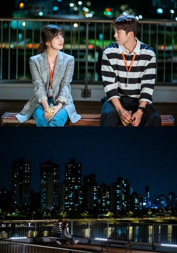 Phim của Suzy chưa lên sóng đã bị chê bai hết lời vì diễn xuất đơ cả đôi ở loạt ảnh nhìn nhau đắm đuối - Ảnh 2.