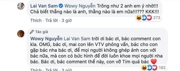 Nói là làm, Wowy Nguyễn ra tận Hà Nội để truy lùng MC Lại Văn Sâm, netizen náo loạn hóng cuộc hội ngộ có 1 không 2 - Ảnh 6.
