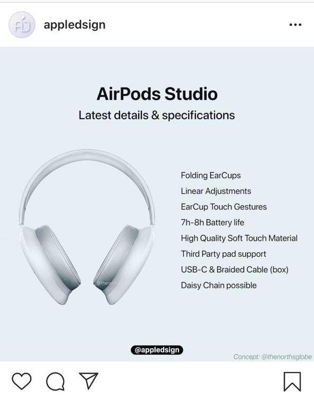 Apple có thể sẽ giới thiệu dòng tai nghe hoàn toàn mới, thiết kế cool ngầu, giá dự kiến hơn 8 triệu đồng - Ảnh 1.