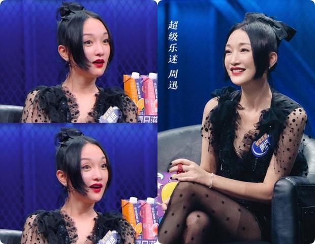 2 năm sau Như Ý Truyện, Châu Tấn gây giật mình với kiểu tóc và váy áo cưa sừng làm nghé quá mức so với tuổi 45 - Ảnh 4.