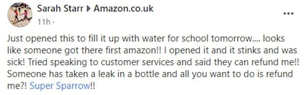 Đặt mua bình nước mới tinh trên mạng cho con gái mang đi học, bà mẹ vừa mở nắp chiếc bình ra đã kinh hãi khi phát hiện ra thứ bên trong - Ảnh 4.