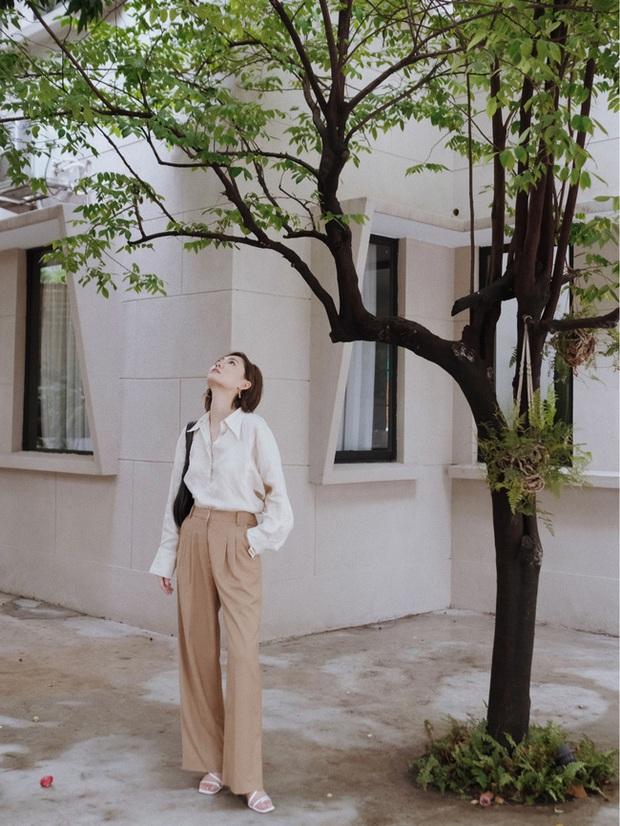 Các quý cô châu Á đồng loạt tẩy chay quần ôm, chỉ diện quần ống rộng với cả chục cách phối đồ đi làm đẹp hết nấc - Ảnh 6.