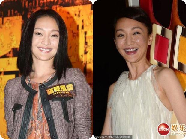 2 năm sau Như Ý Truyện, Châu Tấn gây giật mình với kiểu tóc và váy áo cưa sừng làm nghé quá mức so với tuổi 45 - Ảnh 9.