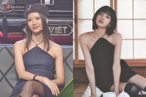 Suboi bất ngờ đụng độ Lisa: Nữ hoàng Rap Việt da nâu bao ngầu, Lisa da trắng nõn kiêu sa - Ảnh 4.