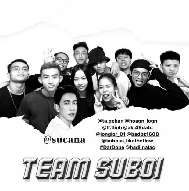 Đây rồi, cuối cùng hình của team Suboi đã được tung ra bởi thành viên thứ 10! - Ảnh 1.