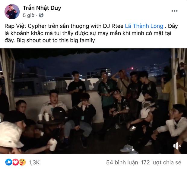 Rap Việt Cypher: Ngày tập luyện đêm kéo nhau lên sân thượng freestyle, ai cũng ngầu bá cháy - Ảnh 5.