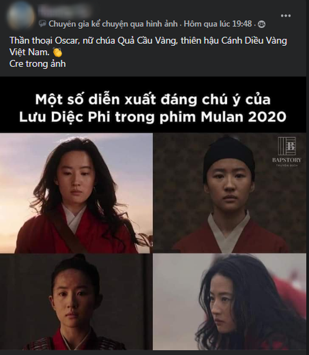 Netizen hùa nhau chế ảnh diễn xuất của Lưu Diệc Phi ở Mulan: Bất biến toàn tập, tỷ chết tâm rồi mấy em ơi! - Ảnh 7.