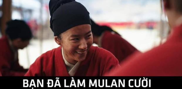 Netizen hùa nhau chế ảnh diễn xuất của Lưu Diệc Phi ở Mulan: Bất biến toàn tập, tỷ chết tâm rồi mấy em ơi! - Ảnh 13.