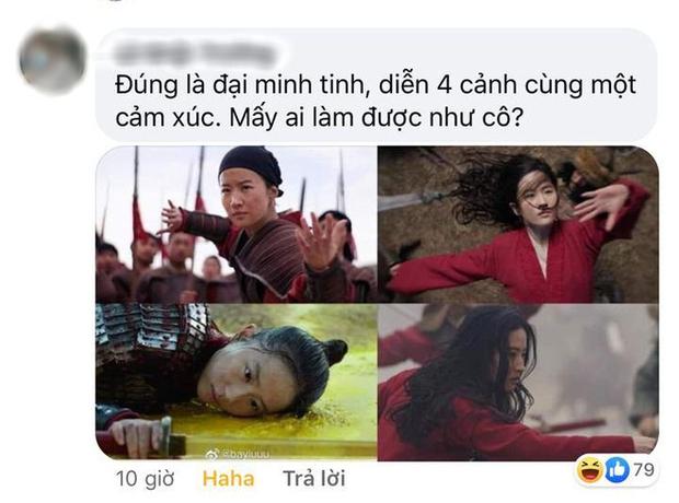 """Khỏi cần dân tình lên tiếng, Lưu Diệc Phi đã tự """"khịa"""" trình diễn xuất của mình ngay trong Mulan đây này! - Ảnh 7."""