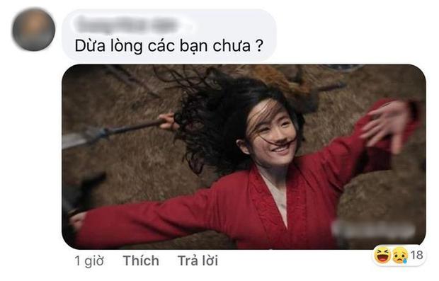 Netizen hùa nhau chế ảnh diễn xuất của Lưu Diệc Phi ở Mulan: Bất biến toàn tập, tỷ chết tâm rồi mấy em ơi! - Ảnh 6.