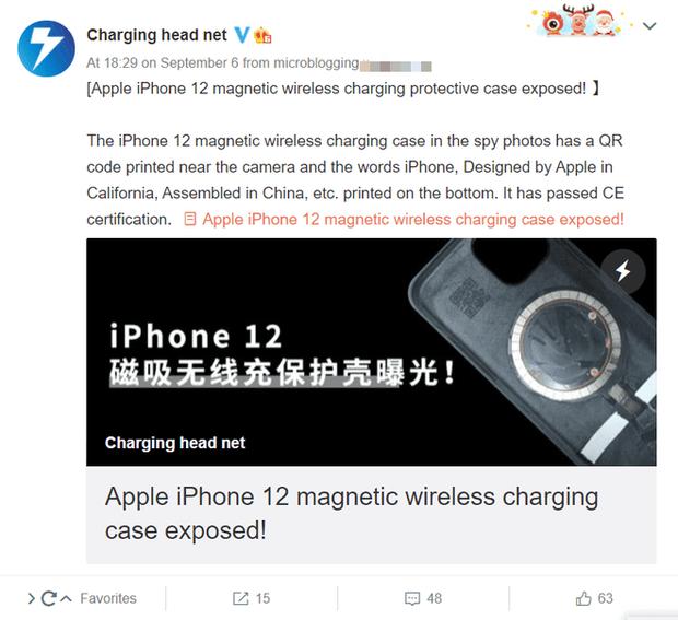 iPhone 12 sẽ được nâng cấp công suất sạc không dây? - Ảnh 1.