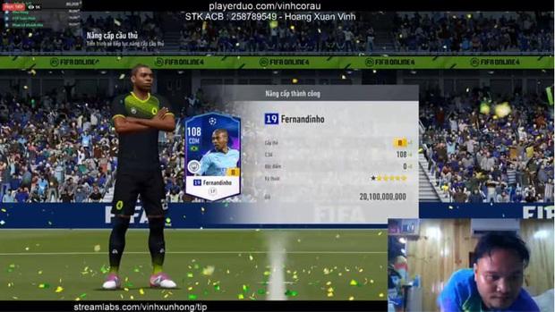FIFA Online 4: Vinh Râu FAPTV livestream nâng cấp thành công thẻ +10 đầu tiên, Akira Phan phải vào xin ngay bí kíp - Ảnh 6.