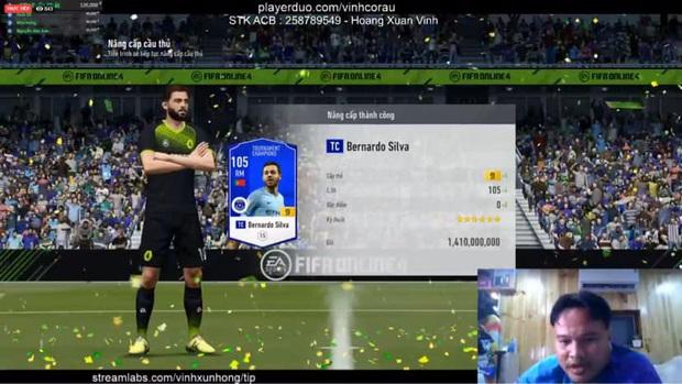 FIFA Online 4: Vinh Râu FAPTV livestream nâng cấp thành công thẻ +10 đầu tiên, Akira Phan phải vào xin ngay bí kíp - Ảnh 8.