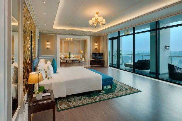 Những khách sạn nổi tiếng ở Việt Nam có phòng tổng thống gây choáng ngợp, giới siêu giàu có tiền cũng chưa chắc được trải nghiệm - Ảnh 4.