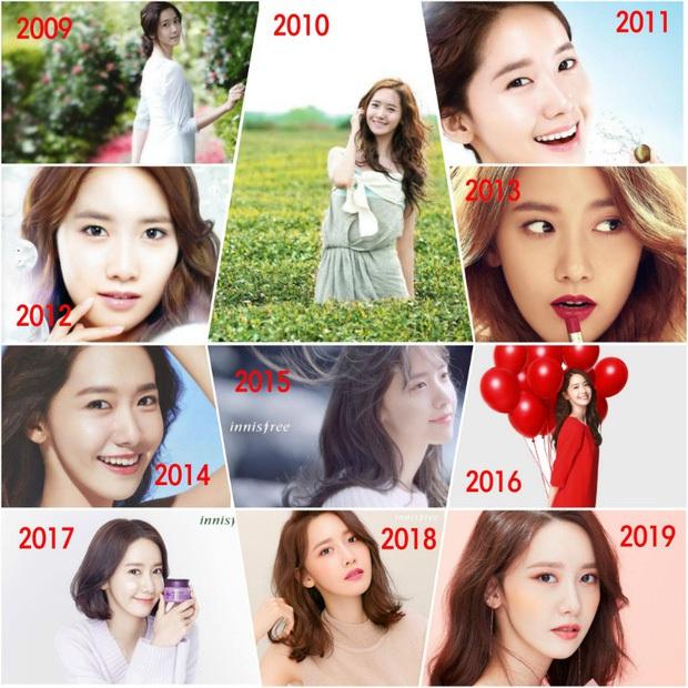 Yoona đã từ em gái quốc dân lên bà hoàng như thế nào? Xem lại 3 thời kỳ làm nàng thơ quảng cáo của cô thì rõ - Ảnh 6.