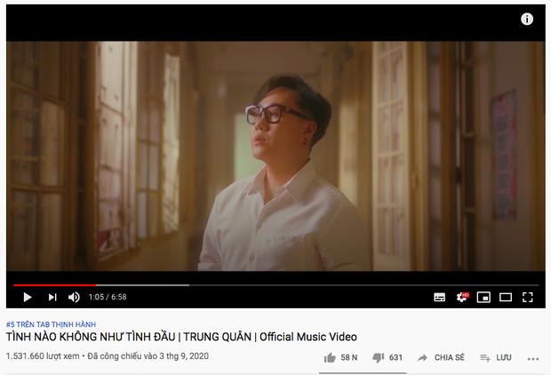 Netizen tràn vào MV comeback của Trung Quân để kể mối tình đầu nhưng không bằng chính chủ phát cuồng cập nhật trending từng phút - Ảnh 2.