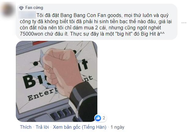 Liên tiếp vung tiền cho các dự án lớn nhưng Big Hit lại tắc trách với chính fan của BTS: Bán goods tệ cực kì! - Ảnh 6.