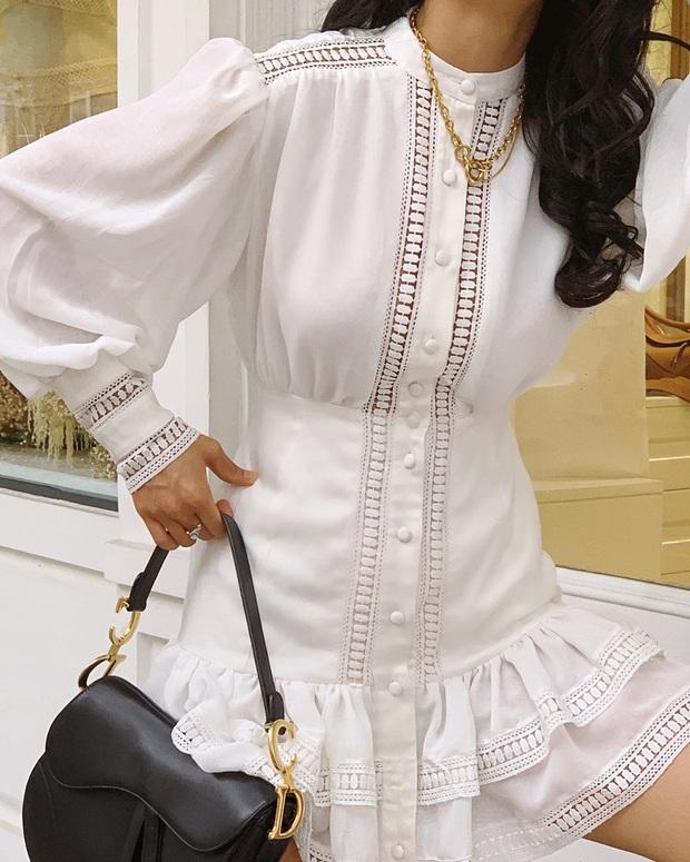Ngoài mê Quang Hải thì Huỳnh Anh còn mê váy trắng điệu đà, bánh bèo tiêu chuẩn là đây chứ đâu - Ảnh 3.