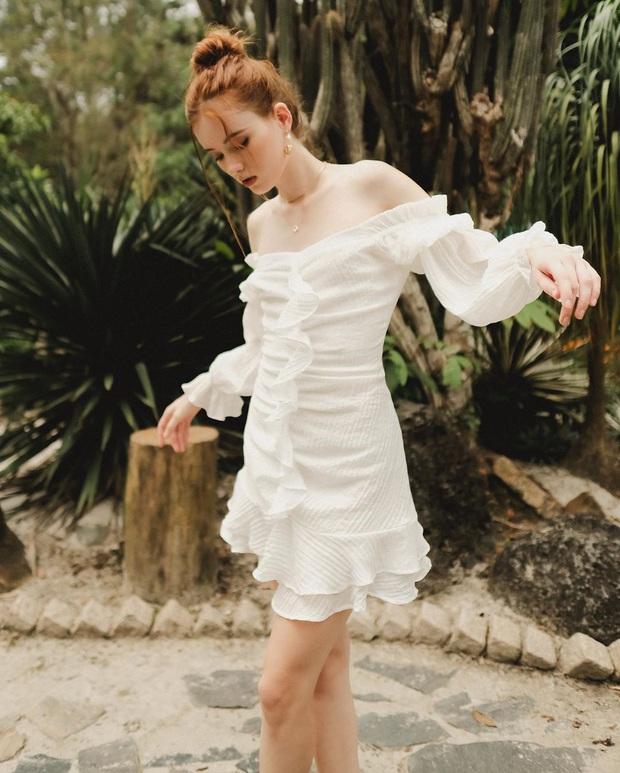 Ngoài mê Quang Hải thì Huỳnh Anh còn mê váy trắng điệu đà, bánh bèo tiêu chuẩn là đây chứ đâu - Ảnh 5.