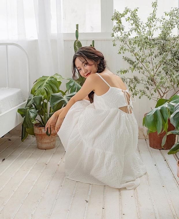 Ngoài mê Quang Hải thì Huỳnh Anh còn mê váy trắng điệu đà, bánh bèo tiêu chuẩn là đây chứ đâu - Ảnh 7.