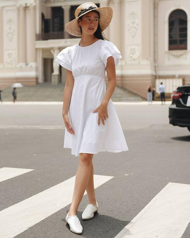 Ngoài mê Quang Hải thì Huỳnh Anh còn mê váy trắng điệu đà, bánh bèo tiêu chuẩn là đây chứ đâu - Ảnh 9.