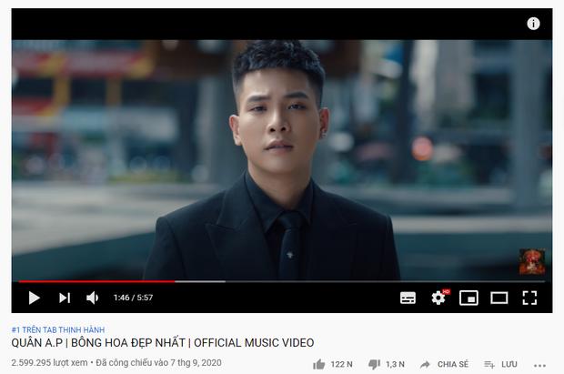 Cuối cùng đã có ca sĩ Vpop lấy lại #1 trending YouTube sau 20 ngày bị xâm chiếm bởi BTS và BLACKPINK! - Ảnh 1.