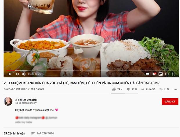 """Vụ YouTuber Hàn bị """"tố"""" lừa dối: Đạp lên dư luận trong nước, biến vlog mukbang đồ ăn Việt Nam trở thành """"trận chiến"""" của fan quốc tế - Ảnh 4."""