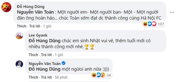 Nhận lời chúc mừng sinh nhật, ông chủ Hùng Dũng tiện thể mời khéo Văn Toàn về đầu quân cho Hà Nội FC - Ảnh 2.