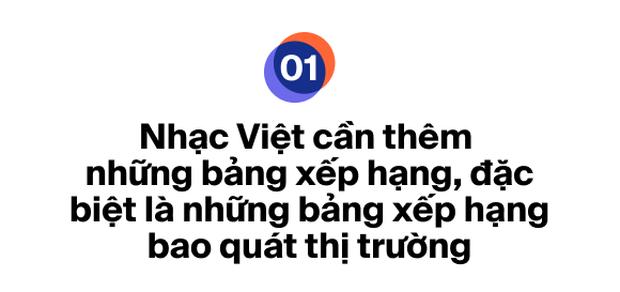 Ra mắt bảng xếp hạng HOT14 bao quát các nền tảng nhạc Việt: Đường đua mới cho nghệ sĩ và âm nhạc đích thực - Ảnh 1.