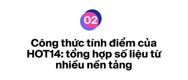 Ra mắt bảng xếp hạng HOT14 bao quát các nền tảng nhạc Việt: Đường đua mới cho nghệ sĩ và âm nhạc đích thực - Ảnh 5.