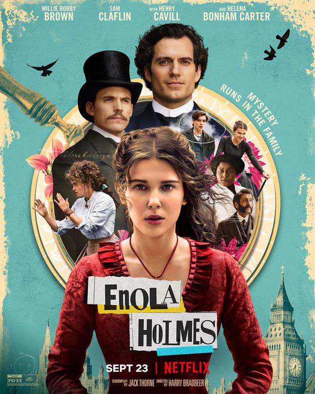 Review quốc tế về Enola Holmes: Nữ chính bá đạo thấy mà mê nhưng miếng hài kém duyên quá nhá! - Ảnh 1.