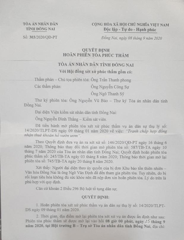 Cụ ông 79 tuổi quỳ gối, đội đơn xin được xử án ở tòa Đồng Nai - Ảnh 3.
