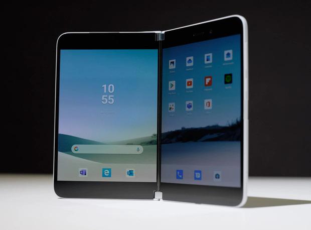 Samsung đang phát triển một chiếc smartphone màn hình gập mới sở hữu hình thức như Surface Duo? - Ảnh 1.