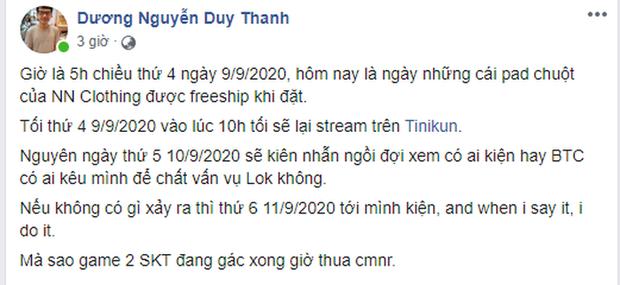 Không thể chờ đợi thêm, Tinikun khẳng định sẽ khởi kiện vì GAM Esports nợ lương - Ảnh 1.