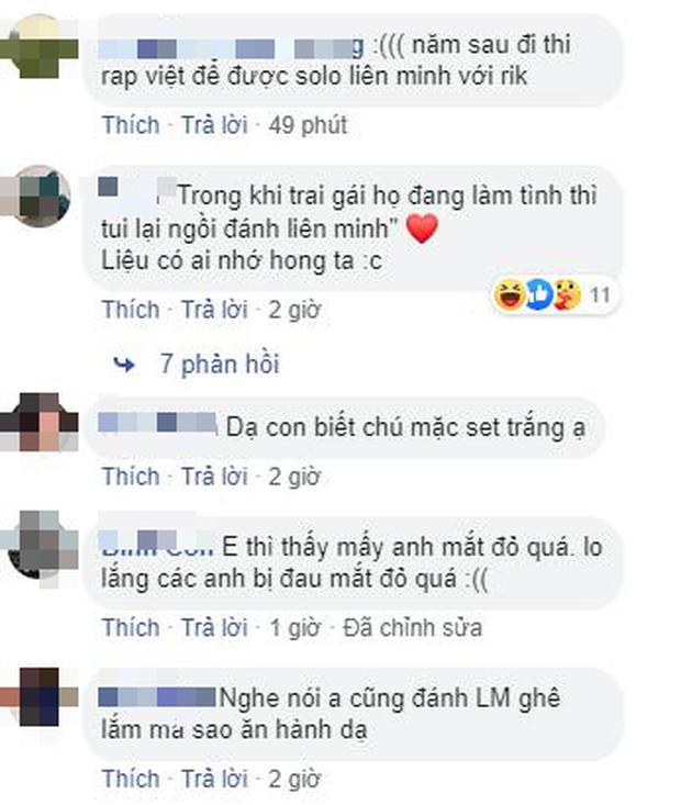 Karik cùng team Rap Việt phá đảo LMHT, múa Yasuo dẻo như kẹo kéo, không thua gì các boy one champ - Ảnh 7.