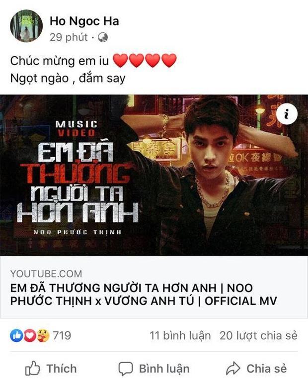 Đông Nhi suy nhược vì bị em bé tung cước, Minh Hằng khẳng định quá bánh cuốn khi xem MV mới của Noo Phước Thịnh - Ảnh 4.