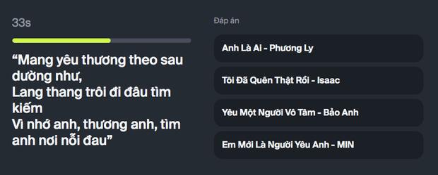 Chơi ngay game hot nhất ngày: Nhạc lên là hát nhưng bạn có phải vị thánh nhạc Việt? - Ảnh 5.