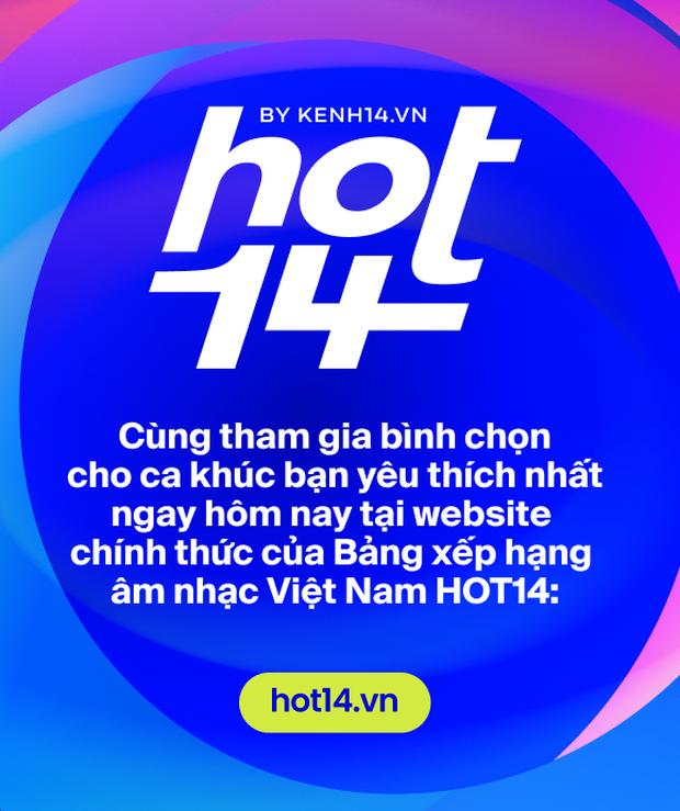 Ra mắt bảng xếp hạng HOT14 bao quát các nền tảng nhạc Việt: Đường đua mới cho nghệ sĩ và âm nhạc đích thực - Ảnh 8.