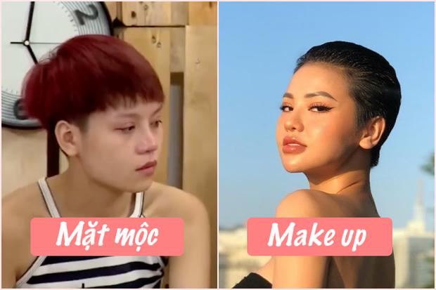 Kiên quyết không đăng ảnh khoe mặt mộc, liệu bạn gái tin đồn của Huỳnh Phương trông ra sao khi thiếu lớp make up? - Ảnh 9.