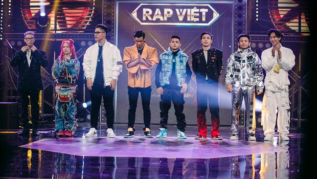 Top 8 Rap Việt đã trưởng thành thế nào sau hành trình hơn 3 tháng qua? - Ảnh 1.