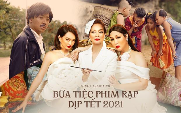 Gái già Kaity Nguyễn cậy giàu hà hiếp bố già Trấn Thành ở đường đua phim Tết 2021? - Ảnh 1.