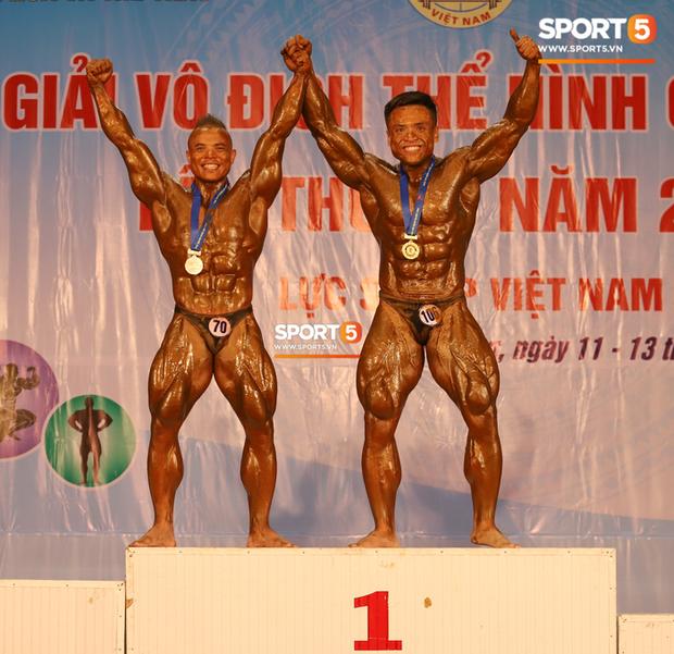 Từ 146 kg, chàng trai béo phì lột xác thành nhà vô địch tuyệt đối ở Giải thể hình danh giá nhất Việt Nam - Ảnh 4.