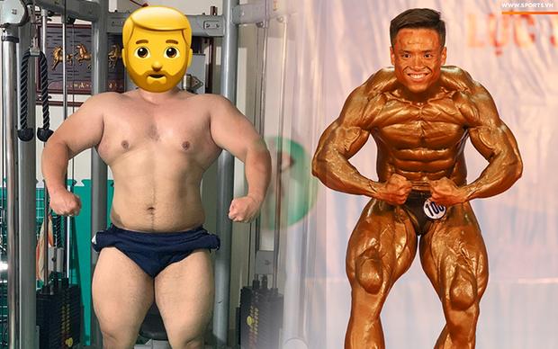 Từ 146 kg, chàng trai béo phì lột xác thành nhà vô địch tuyệt đối ở Giải thể hình danh giá nhất Việt Nam - Ảnh 5.