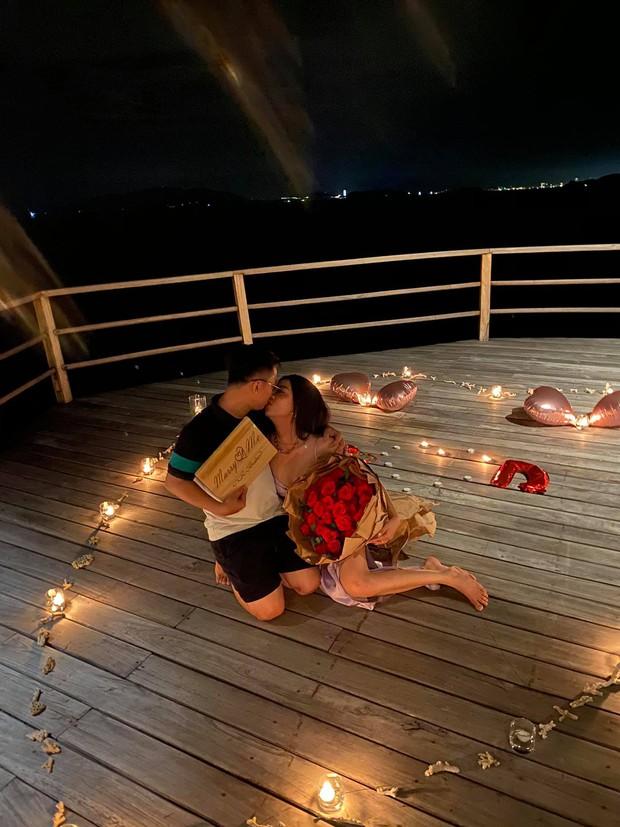 HOT: Á hậu Thuý An được bạn trai cầu hôn lãng mạn sau 3 năm hẹn hò kín tiếng, gần hết nhiệm kỳ đã có tin vui - Ảnh 3.