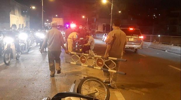 TP.HCM: Nghi gây tai nạn với phụ nữ rồi bỏ chạy, người đàn ông còn đạp ngã xe người truy đuổi - Ảnh 1.