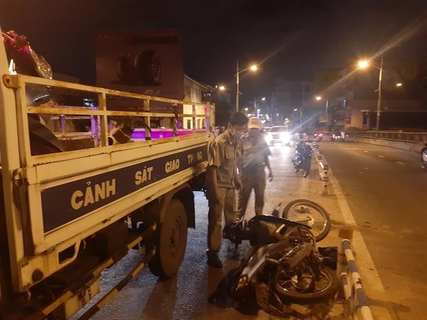 TP.HCM: Nghi gây tai nạn với phụ nữ rồi bỏ chạy, người đàn ông còn đạp ngã xe người truy đuổi - Ảnh 3.