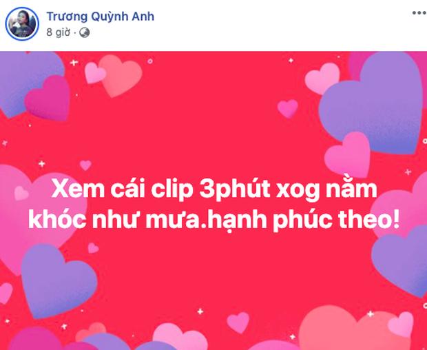 Cả Vbiz rần rần vì clip của Hà Hồ - Kim Lý: Hari Won nhắc đến màn cầu hôn trăm triệu năm xưa, Đông Nhi - Trương Quỳnh Anh vỡ oà - Ảnh 5.