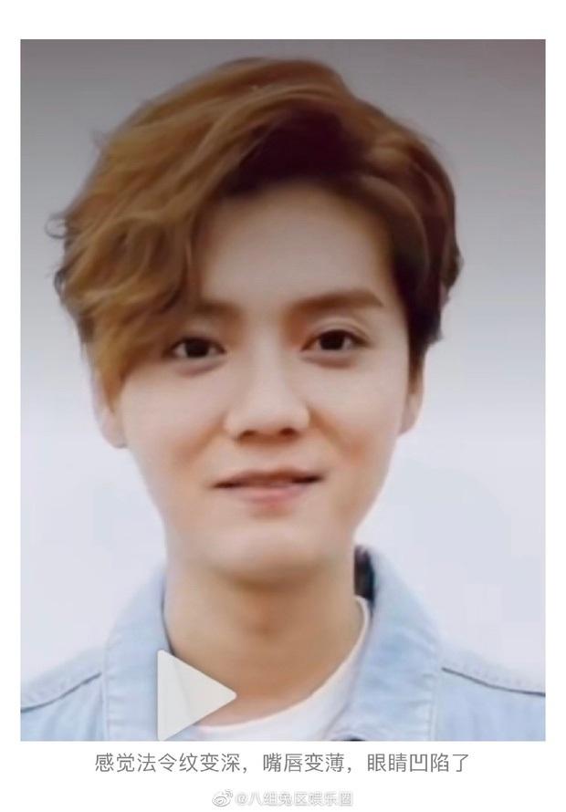 Tranh cãi mặt mộc của Luhan trên truyền hình: Người sửng sốt vì làn da hoàn hảo, kẻ thất vọng vì visual tuột dốc không phanh - Ảnh 8.